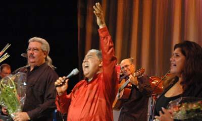 Cantó Danny Rivera en Santa Clara