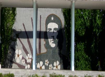Mural al Che por el futuro